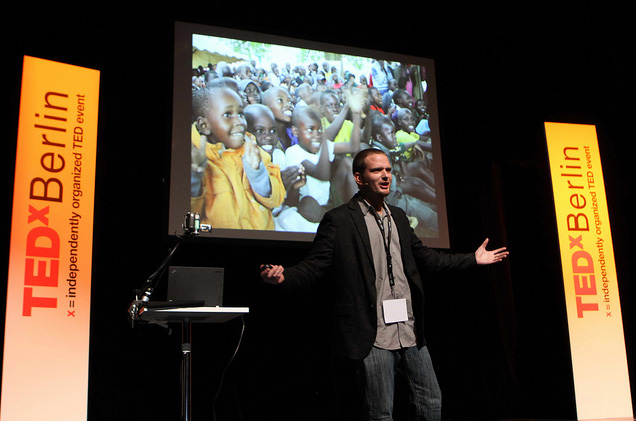 Africa Goal presents at TEDx Berlin