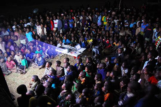 Africa Goal Event in Salima, Zambia