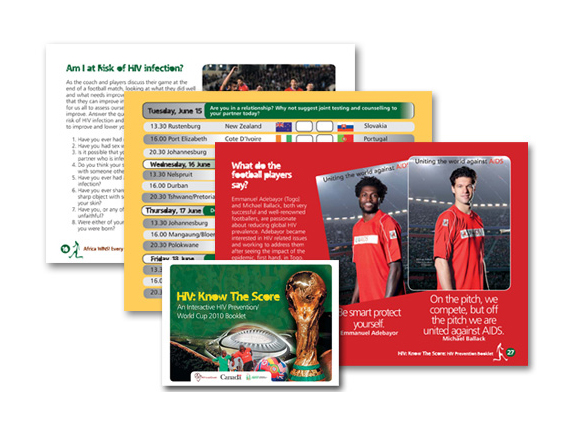 2010 – Africa Goal Booklet (Adult Version)