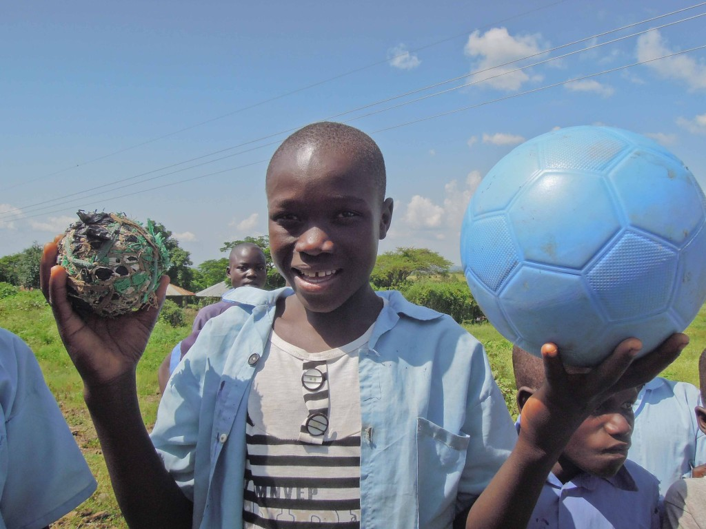 Trading Footballs – Joseph Omondi