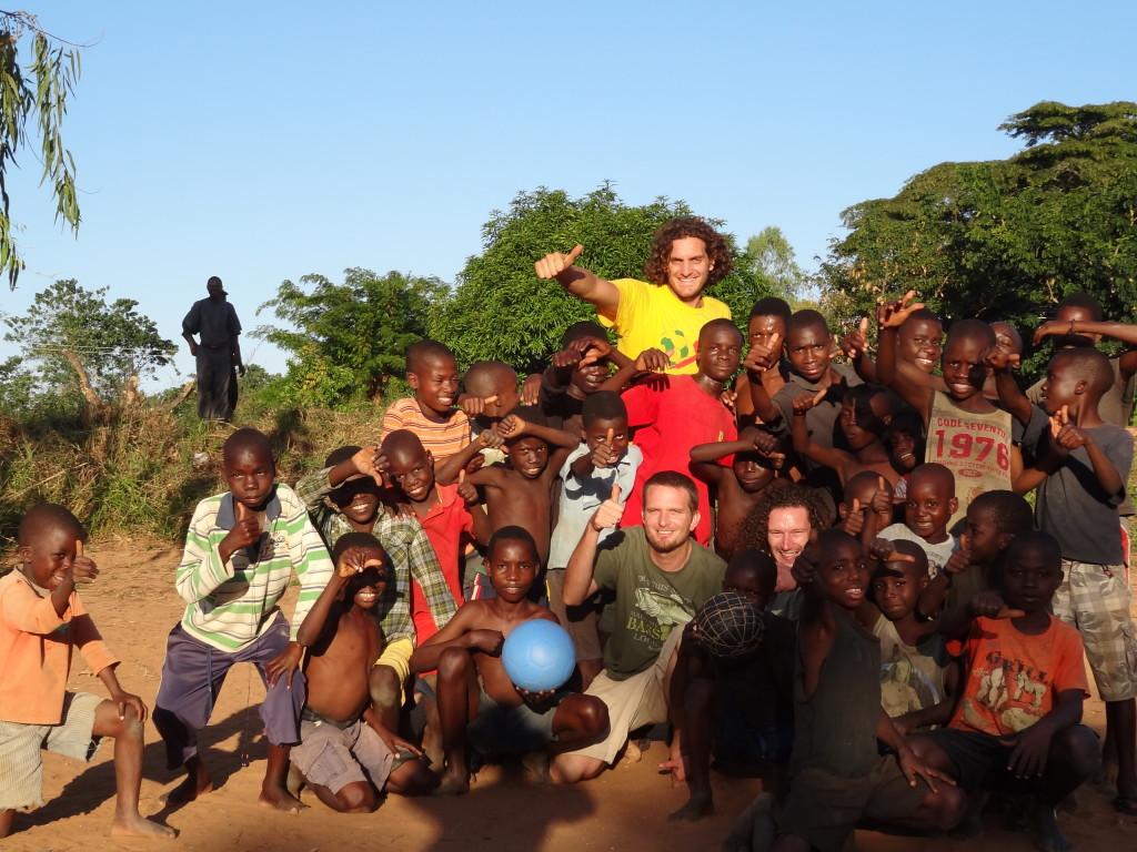 Trading Footballs – Nkhata Bay