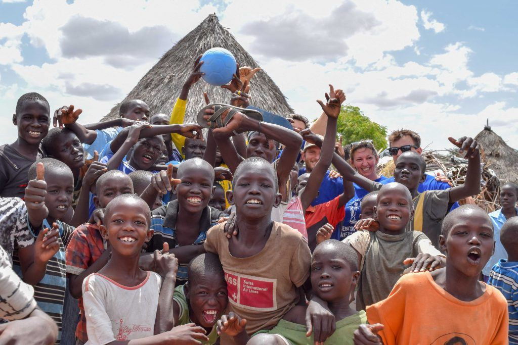 Trading Footballs – South of Lodwar