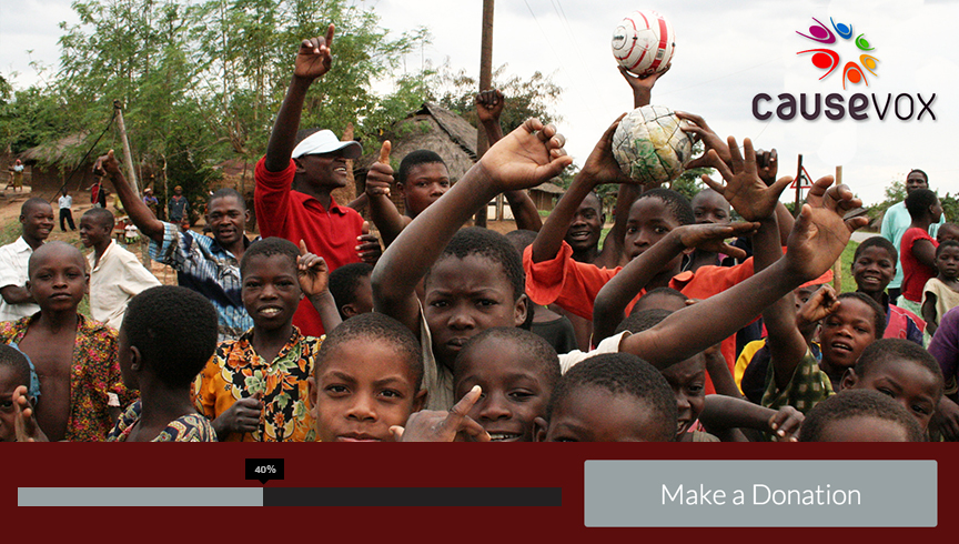 Africa Goal 2014 Fundraising Campaign Launch