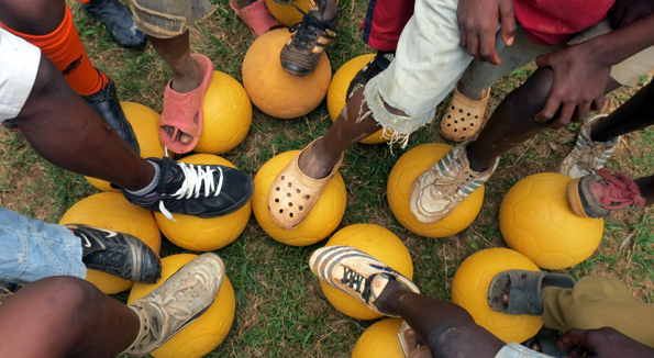 The Worlds Most Durable Ball – Partnering with Africa Goal