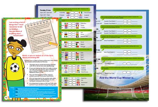 2014 – Africa Goal Booklet (Child Version)