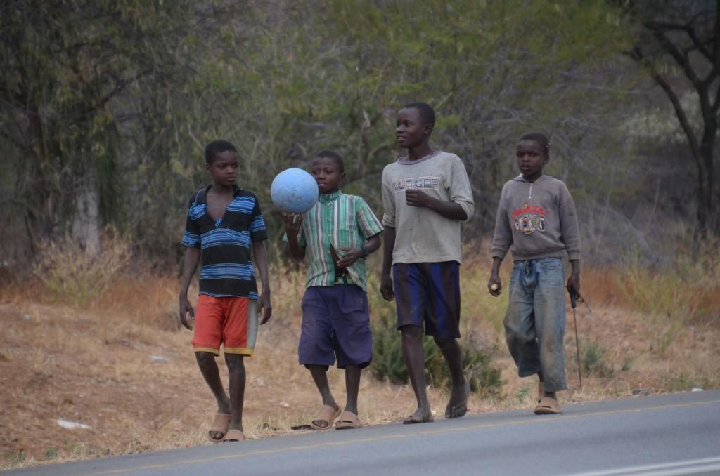 Trading Footballs – Lua Mbuyuni