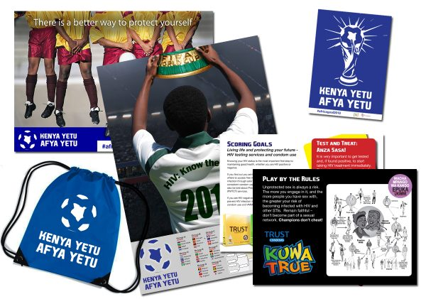 2018 – Africa Goal Posters and Sticker